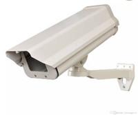 kamera muhafazası toptan satış-Açık Hava Kamera Konut Interal Ağır İş Alüminyum CCTV Güvenlik Gözetleme Kamerası Konut Dağı Muhafaza LLFA