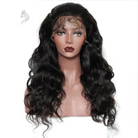 ingrosso parrucche ricci ondulate-Beautiful Black Lolita Long Wavy Animation Full Wig Parrucca nera lunga parrucca nera riccia parrucche FZP32