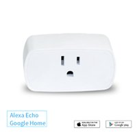 temporizador de alta calidad al por mayor-Alta calidad 110 V 220 V Wifi Enchufe Inteligente Enchufe de Energía USB Interruptor de Luz de Pared con EE. UU. Plug para IOS Android smarphones WIFI Enchufe Inteligente