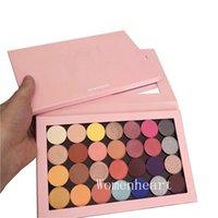 lidschattenpaletten 28 farben großhandel-Hochwertige neue Makeup Eyeshadow One Open Palette Magnet 28 Farben Lidschatten-Palette Epacket