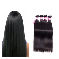 Wholesale bulk for sale - Group buy Brazilian straight Wave or Bundles Deals Unprocessed Brazilian Virgin Human Hair Extension Peruvian Virgin Remy huam Hair bundles