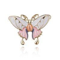 wholesale items china Canada - ITEM 2 Rhinestone alloy Natural Animals Jewelry Brooch Pins Insect Butterfly Brooches for Women Costume Brooch Pins Gift