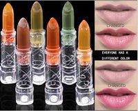 волшебный цвет оптовых-красочные магия желе блеск для губ переменчивый водонепроницаемый закаленное блеск для губ изменение цвета блеск для губ longlasting составляют косметический макияж продукты