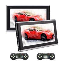 "Wholesale Dvd Car Holder - EinCar Twins 10.1"" Ultra-thin Portable car DVD CD Player Auto Headrest Mount Holder Wide Screen Remote Control Car Charger HDMI SD USB"