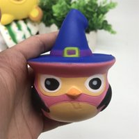 Wholesale owl ornaments - Owl Shape Squishy Children Toy Lovely PU Soft Squishies Adults Decompression Toys Relieve Anxiety Gift New Arrival 9sy C