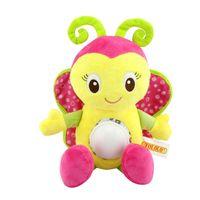 orman hayvanları peluş toptan satış-Peluş Oyuncaklar Orman Hayvan Bebekler Yaratıcı Çocuk Oyuncakları Elektrikli Piercing Bebekler