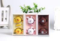 Wholesale rabbit ears cell phone online – custom Yinbao Limong Bear Headphones Cartoon Animals Classic Totoro Ear Hanging Strap Mai Rabbit Cat Earplugs