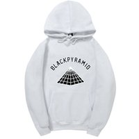 Wholesale pyramid silver - 2017 Newest Chris Brown BLACK PYRAMID Hip Hop Hoodies Men And Women Sweatshirts Skateboard Street Style Cotton Tracksuit Hoodie