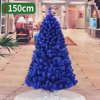 Wholesale company packages online – deals New Year Fashion Blue Christmas Tree With Metre Metres Tall For Company Family Hotel Using One Piece Per Package