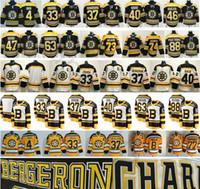 ingrosso boston bruins classici invernali-2019 Winter Classic Boston Bruins Hockey 4 Bobby Orr 33 Zdeno Chara 37 Bergeron Krejci Brad Marchand Patrice Pastrnak 40 Tuukka Rask Jerseys