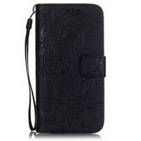 Wholesale rose pattern wallets for sale - Group buy for LG K7 G5 phone case soft tpu flip leather cover Embossed pattern butterfly flower magnet Buckle card slot brush folio stand case
