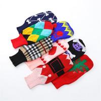 mini cão roupa venda por atacado-Mais grosso pet suéter cão gato roupas de árvore de natal bonito mini roupas de amor vestuário agradável presente suprimentos 13 8sw bb