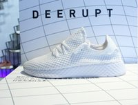 Wholesale Black White Womens - (With Box ) 2018 HOT SALE New Originals DEERUPT RUNNER SHOES mans womens shoes sports shoes running shoe Big name CQ2624 szie 36-45