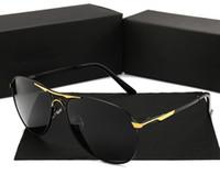auto polarisierte marken großhandel-Neue Männer polarisierte Sonnenbrille-treibendes Fischen-Sonnenbrille-Auto-Marken-Gläser 8722 der freien Männer im Freien Freies Verschiffen