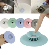 Kitchen Gadgets Accessories Star Outfall Drain Cover Basin Sink Strainer Filter Shower Hair Catcher Stopper Plug Pure White And Translucent Home & Garden Other Kitchen Tools & Gadgets
