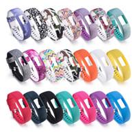 Wholesale activity wrist bands online – Silicone pattern Wrist band for Garmin Vivofit Strap Activity Fitness Tracker Replacement Watchbands For Garmin Vivofit4 Wristband