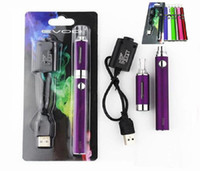 Wholesale battery pack mah - MT3 EVOD Blister Pack Starter Kits with MT3 Atomizer 650 900 1100 mAh Battery E-Cigarettes kit Vaporizer 510 Vape Pen Battery Oil Cartridges