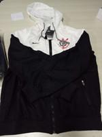 novo sportswear venda por atacado-Corinthians clube new arrivals mens clothing designer jaqueta primavera sportswear para o sexo masculino blusão com capuz zipper up jacket