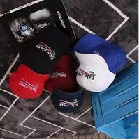 Wholesale hats cap swag - Paris Family baseball cap VETEMENTS POLIZEI SECURITE cat caps for men and women Baseball Cap Black Green bone swag Outdoor sun visor hats