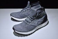 Wholesale Men Long Shoes - Ultra Boost ATR Mid icm 63308 Primeknit Running Shoes ankle-long sports Sock boots Casual Boost Black White