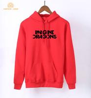 hoodie de rock venda por atacado-2018 mulheres primavera outono hoodies banda de rock IMAGINE DRAGONS Kawaii mulheres camisola de manga longa Pullovers Hipster treino S-XXL