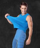 schlankes körperformhemd für männer großhandel-Männer Bodybuilder Bequeme Bauchformer Für TV Abnehmen Shirt Boy Body Shapewear Beseitigung Sexy Hüftgürtel Männlichen Bier Bauch