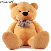 плюшевые медведи оптовых-120 см Америка гигантский плюшевый медведь плюшевые игрушки мягкий плюшевый медведь кожи популярные день рождения Валентина подарки для девочек Детские игрушки подарок