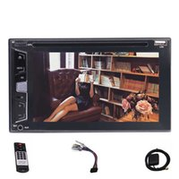 Wholesale rear view camera tv dvd online - Eincar Double Din Car Stereo car DVD Player Headunit Autoradio p screen GPS Navigation Bluetooth USB AM FM RDS Rear Camera