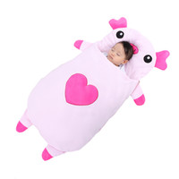 Wholesale Infant Pig - Baby bedding Baby sleeping bags Kids sleeping sack infant Toddler sleeping bag cartoon animals sleep bag cute pig XHY028
