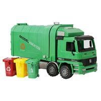 erkek çocuk oyuncakları kamyonlar toptan satış-1:22 Çocuk Sanitasyon Kamyon Çöp Kamyonu Oyuncak Çocuk Simülasyon Atalet Mühendislik Temizleme Araba Modeli 3-5 Yaş Için Uygundur