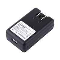 carregador de doca de viagem de bateria venda por atacado-Aprox. 32mm a 56mm universal usb lcd indicador de parede da bateria do telefone celular carregador de viagem doca tensão ampla eua plugue