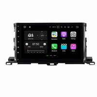 Wholesale car usb mp3 player dvd online - Quad Core quot Android Car DVD Player for Toyota Highlander With GB RAM Radio GPS WIFI Bluetooth USB DVR GB ROM