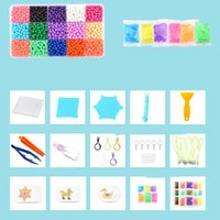 Wholesale magic water beads wholesale - Developmental Waterpower Sticky Beads Children Intelligence Toy DIY Water Magic Bead Stick Kids Learning Education Handcraft 10 24bk WW