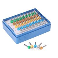 pcb karbür matkap ucu toptan satış-Freeshipping 50 Adet / grup matkap uçları araçları için Tungsten Karbür Mikro Matkap Uçları Seti Gravür Araçları PCB Devre 0.25 + 0.3 + 0.35 + 0.4 + 0.45mm
