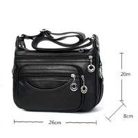 Wholesale Cheap Female Handbags - KUJING Fashion Handbags Cheap High Quality Middle-aged Mother Bag Women Shoulder Messenger Bag Hot Female Travel Leisure Package