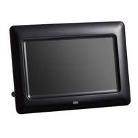 mp3 resim çerçeveleri toptan satış-7 inç Ekran 800X480 Tam Fonksiyonlu Dijital Fotoğraf Çerçevesi Saat Müzik Video Oynatıcı Uzaktan Kumanda ile Elektronik Albüm Resim Çerçevesi