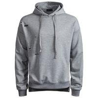 british style hoodies groihandel-2018 neue Mode Männer Broken-hole Hoodies Männer Casual britischen Stil reine Farbe mit Kapuze Mantel S-2XL für Herbst