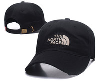 Wholesale silk fashions women - 2018 Good Fashion North Luxury brand Face hat Dad Hat hiphop golf polose baseball caps for men and women