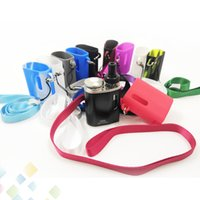 Wholesale baby soft skin - Istick pico baby Silicon Case Skin Cases with Lanyard Protective Colorful Soft Silicone Sleeve Cover Skin E Cigarette DHL Free