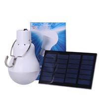 ingrosso lampade solari per la casa-Lampada a LED portatile S-1200 15W 130lm Lampada a energia solare ricaricata Utile Lampada da campeggio solare Illuminazione da esterno a casa calda