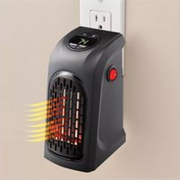 Wholesale Wholesale Portable Heaters - Mini Handy Heater Household The Wall Outlet Space Heaters Portable Home Warm Air Blower High Quality 45wn C R