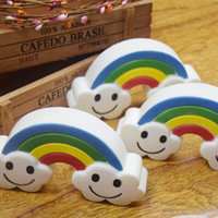 Wholesale Hand Props - Rainbow Cloud Squishy Hand Squeezed Toy Squishies Decompression Toys Photography Take Photo Prop Kid Gift 8 5ym C