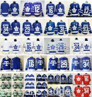Wholesale Army 4xl - 2017 2018 New Toronto Maple Leafs Jersey 34 Auston Matthews 16 Mitchell Marner 29 William Nylander 17 Wendel Clark 12 Patrick Marleau Hockey