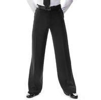 calças de dança latinas venda por atacado-2018 Nova Chegada Homens Jazz / Calças de Dança Latina Calças Dos Homens Negros de Dança de Salão Calças Desgaste Prática / Desempenho 2 modelos