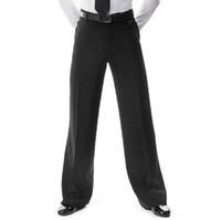 siyah erkekler dans pantolonları toptan satış-2018 Yeni Varış Erkekler Caz / Latin Dans pantolon Pantolon Siyah Erkek Balo Salonu Dans Pantolon Giymek Uygulama / Performans 2 modelleri