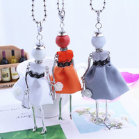 Wholesale necklace french - luxury elegant ladies necklaces free shipping 2018 new women long chain stylish french paris doll necklaces jewelry big choker