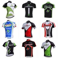 Wholesale bikes merida cycling team resale online - MERIDA team Cycling Short Sleeves jersey Men s Summer Cycling Professional Team Mountain Bike Wear sportswear outdoor D311