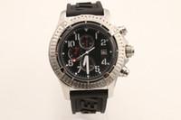 xiaomi mi caber 4 venda por atacado-Homens de aço inoxidável do relógio de homens do bom safira olham o relógio de homens super A1337111-BC28BKPD3 dos relógios de pulso II do avenger II