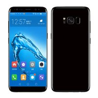 Wholesale dual sim phones - 5 inch Goophone S8 plus Unlocked phone MTK6580 Quad Core Android G G Show Octa core Show G LTE Smartphone