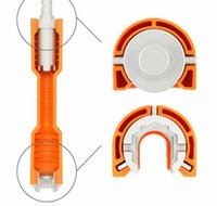 Wholesale Home Faucets - Faucet and Sink Installer Wrench Anti-Slip Handle Double Head Wrench Tool Home Red and Orange DDA116